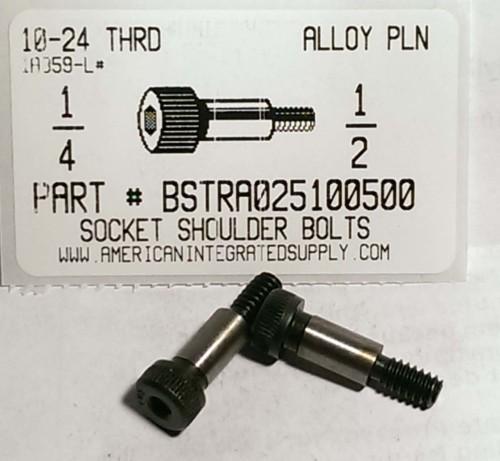 1//2X5 Socket Shoulder Screw Plain